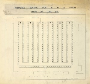 The Guildhall (72) – Seating Plan